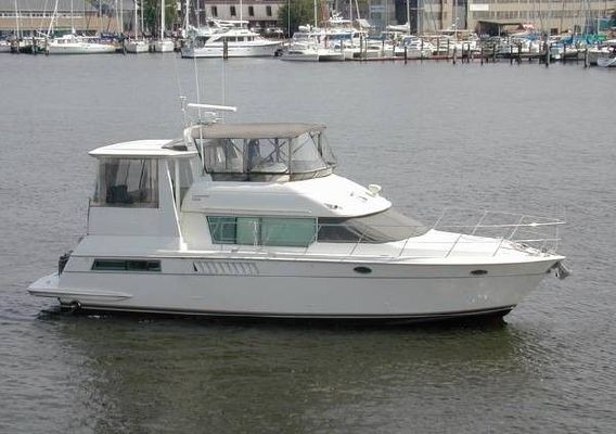 1996 carver 455 aft cabin with 3 staterooms  1 1996 Carver 455 Aft Cabin with 3 Staterooms