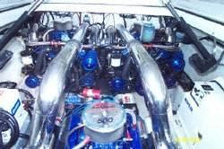 Fountain Lightning with REBUILT ENGINES 1996 Fountain Boats for Sale