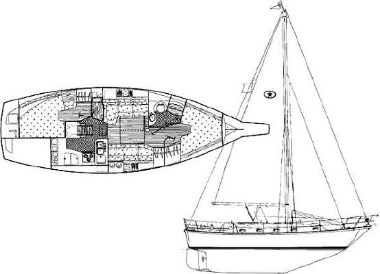 Island Packet 37 1996 All Boats