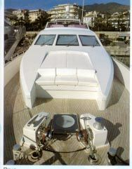 Mochi Craft fast fly bridge 1996 All Boats