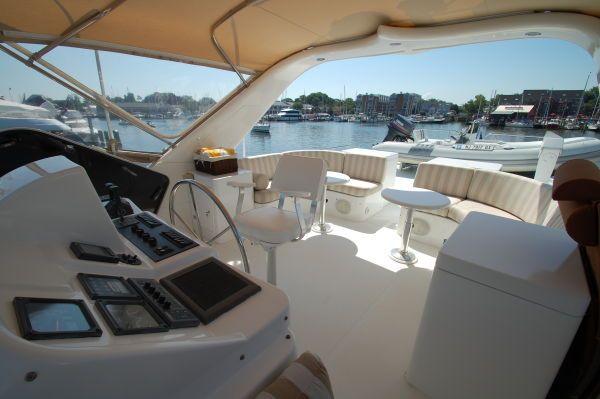 Queenship Pilothouse stabilized crew qtrs 1996 Pilothouse Boats for Sale
