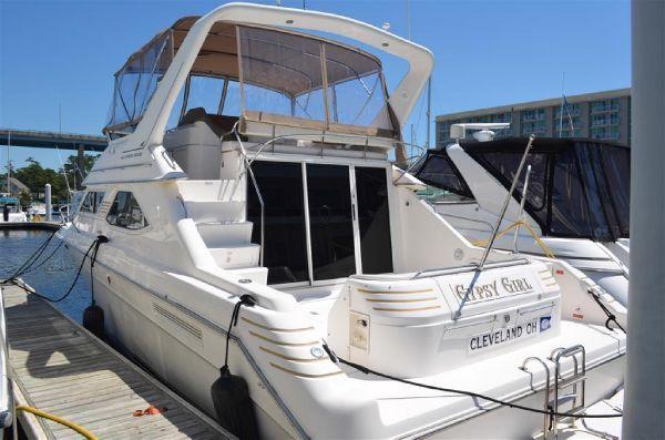 Sea Ray 440 Express Bridge(Bank Repo) 1996 Sea Ray Boats for Sale