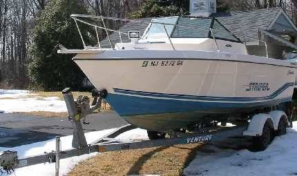 Boats for Sale & Yachts Seaswirl 2150 new engine w warranty trailer included 1996 All Boats