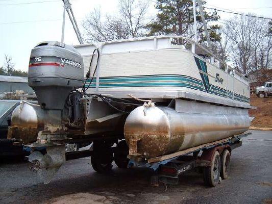 1996 Sylvan Family Pleasure Pontoon Boat Boats Yachts