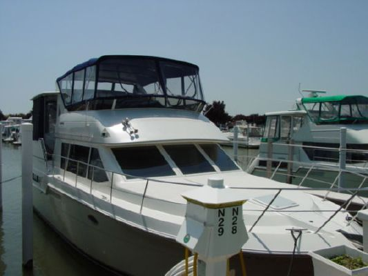 1997 carver 405 aft cabin motor yacht boats yachts for sale for Carver aft cabin motor yacht