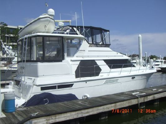 1997 carver 445 aft cabin motor yacht boats yachts for sale for Carver aft cabin motor yacht