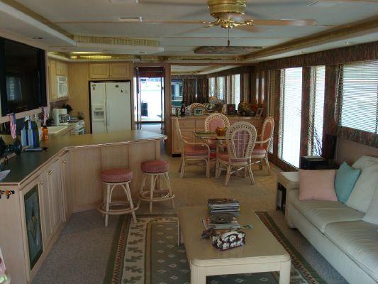Fantasy Houseboat 80 X 16 1997 Houseboats for Sale