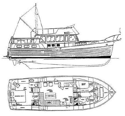 Grand Banks 46 Motoryacht 1997 Grand Banks Yachts