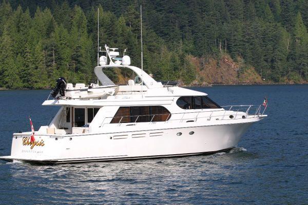 Ocean Alexander 610 Pilothouse 1997 Motor Boats Ocean Alexander Boats Pilothouse Boats for Sale