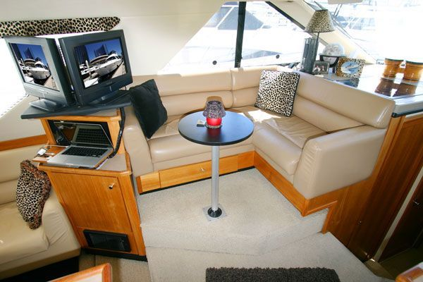 Bayliner Sedan Bridge Virtual Tours! 3988 1998 39' Bayliner Boats for Sale