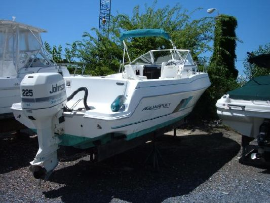 1998 aquasport 245 explorer  1 1998 Aquasport 245 Explorer