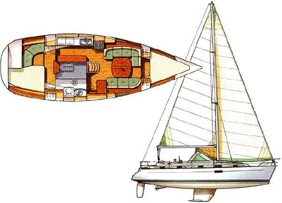 Beneteau Oceanis 36 CC 1998 Beneteau Boats for Sale