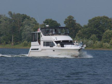 Boats for Sale & Yachts Carver 405/406 Aft Cabin w/NEW CANVAS & ENCLOSURES 1998 Aft Cabin Carver Boats for Sale