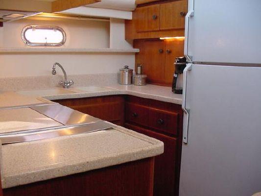 1998 carver 445 aft cabin  23 1998 Carver 445 Aft Cabin