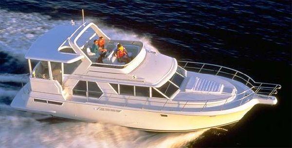 1998 carver 445 aft cabin motor yacht  1 1998 Carver 445 Aft Cabin Motor Yacht