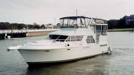1998 carver 445 motoryacht  1 1998 Carver 445 Motoryacht