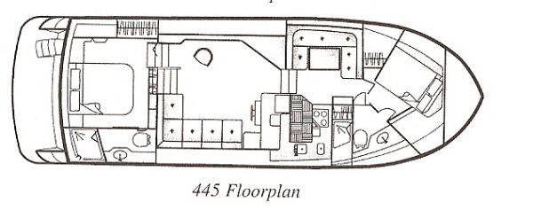 1998 carver 445 motoryacht  44 1998 Carver 445 Motoryacht