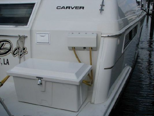 1998 carver 455 aft cabin w hard top  44 1998 Carver 455 Aft Cabin W/Hard Top