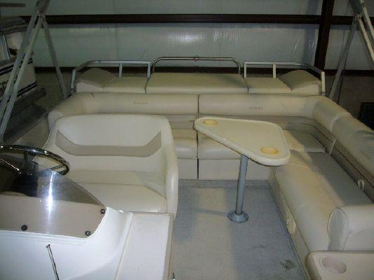 1998 crest pontoon boats caribbean  4 1998 CREST PONTOON BOATS CARIBBEAN
