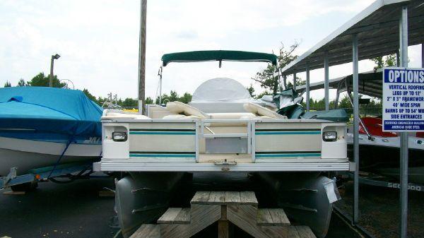 1998 crest pontoon boats super fisherman  2 1998 CREST PONTOON BOATS Super Fisherman