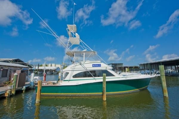 Egg Harbor 52 Convertible w/ Tower 1998 Egg Harbor Boats for Sale