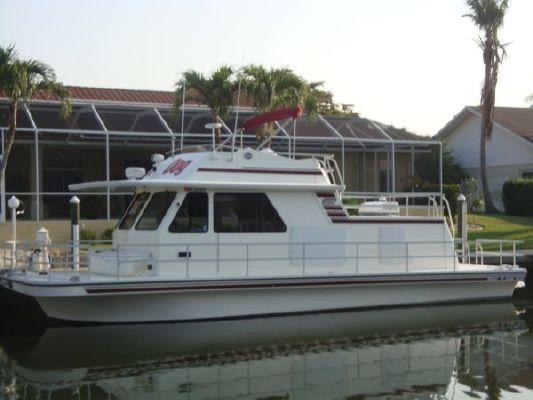 1998 Gibson Houseboat Flybridge 41 Boats Yachts For Sale