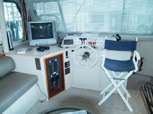 Harbor Master Pilothouse WB 1998 Egg Harbor Boats for Sale Pilothouse Boats for Sale