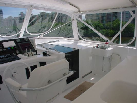 1998 hatteras elite series wide body  53 1998 Hatteras Elite Series Wide Body