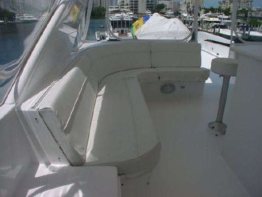 1998 hatteras elite series wide body  58 1998 Hatteras Elite Series Wide Body