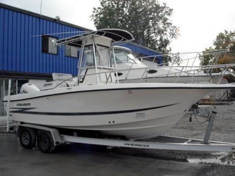 Hydra Sports 2250 CC 1998 Hydra Sport Boats