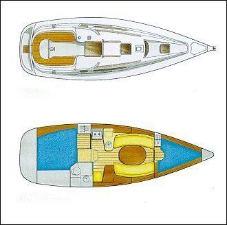 1998 jeanneau sun odyssey 322 privatyacht  11 1998 Jeanneau Sun Odyssey 32.2 (Privatyacht)