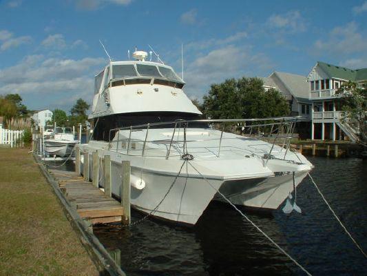 Kevlacat Ocean Trek Power Catamaran 1998 Catamaran Boats for Sale