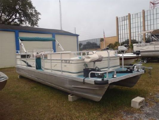 Boats for Sale & Yachts Lowe 245 Pontoon 1998 Pontoon Boats for Sale