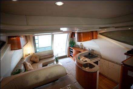 Maxum 46 SCB Sedan Cruiser Flybridge 1998 Flybridge Boats for Sale