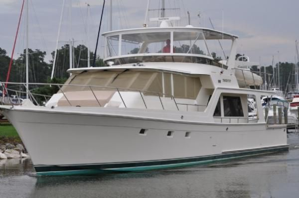 1998 Offshore Yachts Flush Deck Boats Yachts For Sale