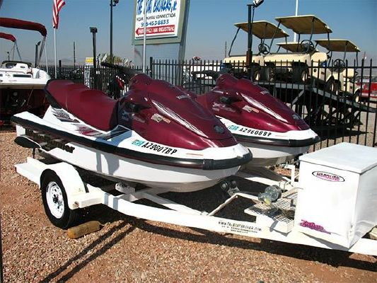 Yamaha XL760 (2) PWC & Trailer Pkg 1998 Ski Boat for Sale