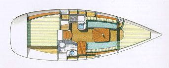 1999 beneteau oceanis 311 clipper  1 1999 Beneteau Oceanis 311 Clipper