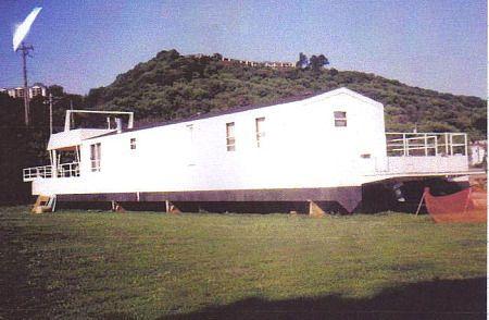 Catamaran style houseboat Pontoon 117'4 1999 Houseboats for Sale Pontoon Boats for Sale
