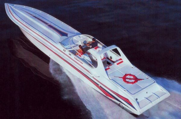 Fountain 47 Lightning 1999 Fountain Boats for Sale