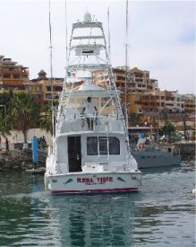 Hatteras Convertible with Tower 1999 Hatteras Boats for Sale