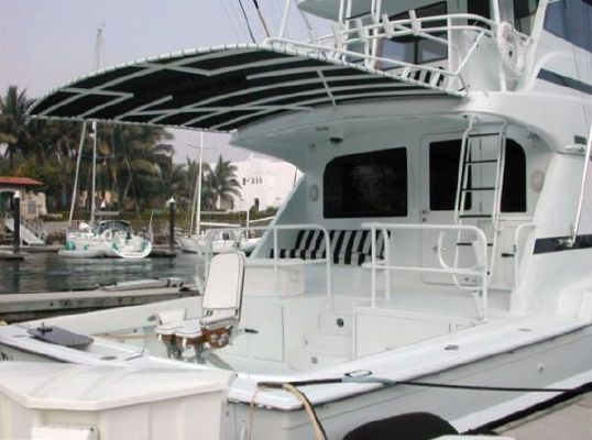 Hatteras Enclosed Flybridge 1999 Flybridge Boats for Sale Hatteras Boats for Sale