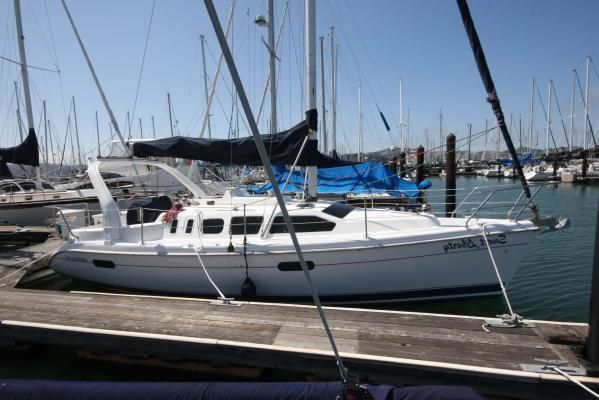 1999 hunter 310 sloop  1 1999 Hunter 310 sloop
