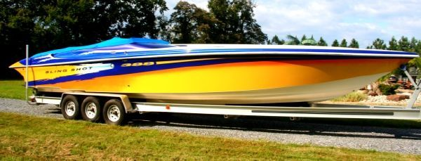 Hustler 388 SLINGSHOT 1999 All Boats