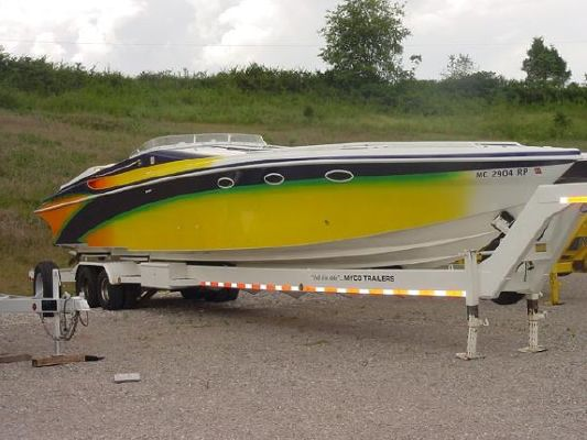 Are Hustler 377 powerboat for sale for
