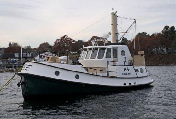 North End Rockport Steel/Sam Tibbets Custom Seaton/Benford Trawler 1999 Trawler Boats for Sale