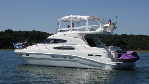 1999 sealine motor yacht  1 1999 Sealine Motor Yacht