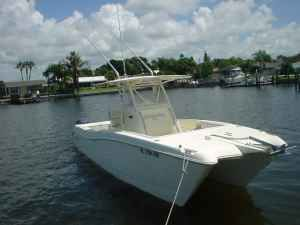World Cat 266 SF 1999 World Cat Boats for Sale