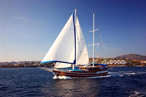 Bodrum Gulet Transom Type Gulet 2000 Ketch Boats for Sale