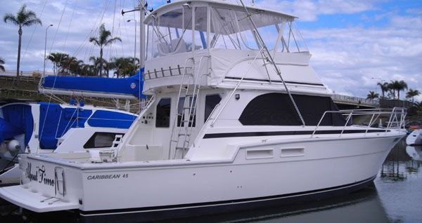 2000 caribbean 45 flybridge cruiser  6 2000 Caribbean 45 Flybridge Cruiser
