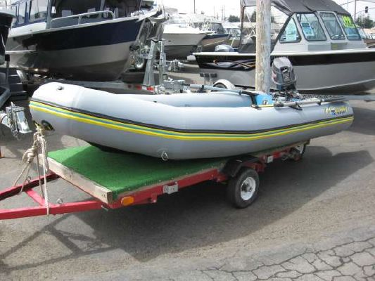 Custom Bombardier 14' Tropik Inflatable 2000 All Boats Inflatable Boats for Sale